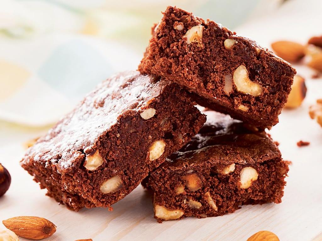Brownie al microondas facil