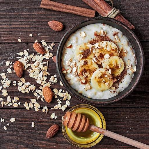Porridge gachas receta