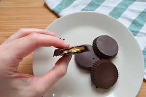 Reeses caseros saludables